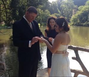 Wedding officiant Paris France