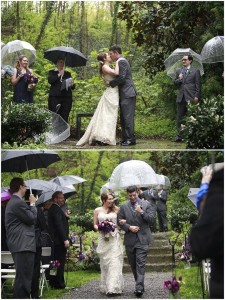 cérémonie mariage laique sous la pluie