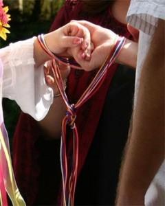 rituel symbolique cérémonie des rubans