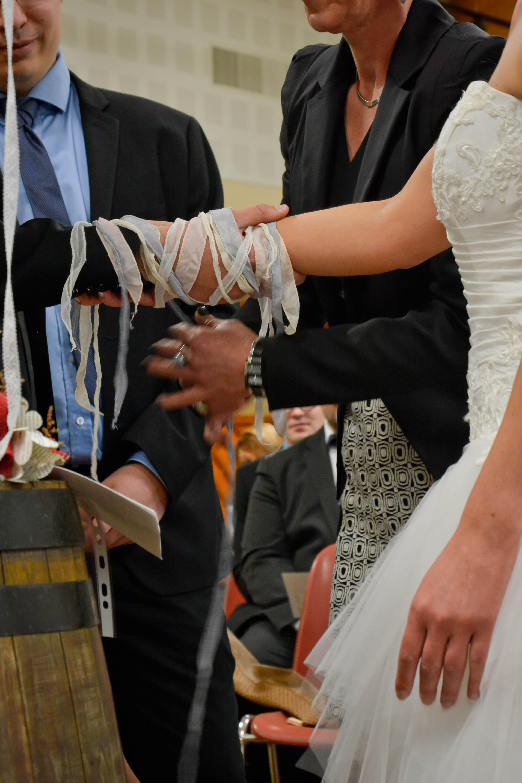 La cérémonie laïque de Kelly et Maël