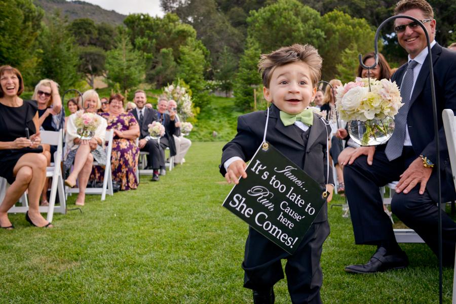 Comment faire participer les enfants à votre cérémonie laïque