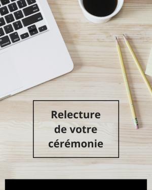 Relecture cérémonie
