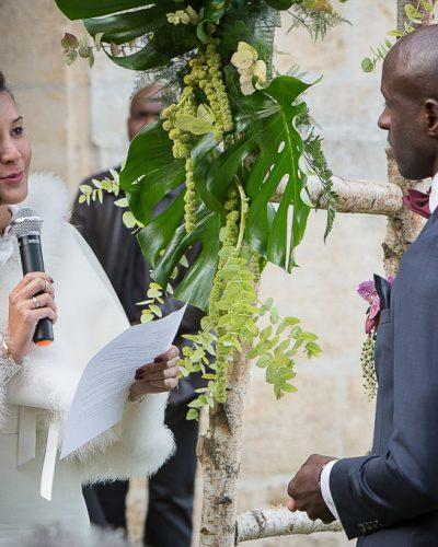 Que contiennent des voeux de mariage ?