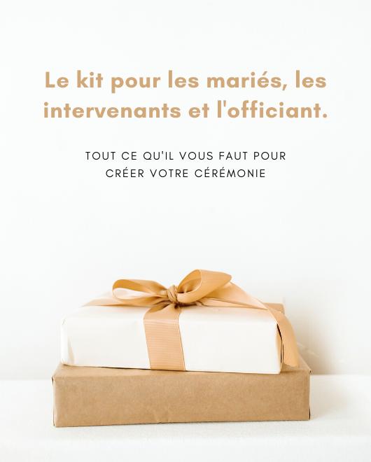 Kit de démarrage Cérémonie mariage