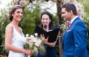 Officiante de cérémonie mariage laique