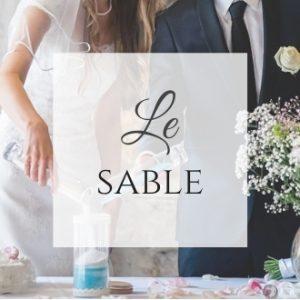 Rituel symbolique mariage sable